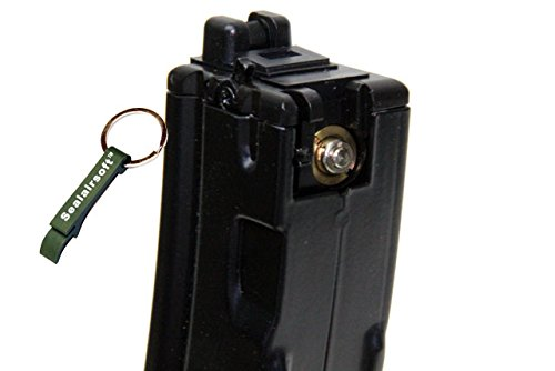 WE  2 WE 30rds Gas Airsoft Gas Magazine For APACHE MP5 MP5K MP5A2 GBB SMG Classic -Mobile Ring Included