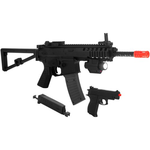 Whetstone  1 Whetstone P1188 Airsoft Rifle and Pistol Combo