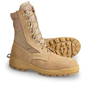 Wellco Combat Boot 1 Military Outdoor Clothing Never Issued 16R Desert Hot Weather Army Combat Boot Tan