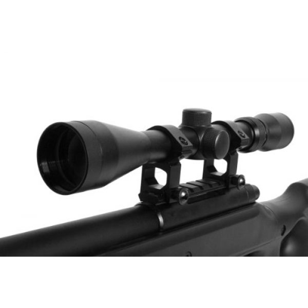 Well Airsoft Rifle 6 wellfire mb10d bolt action sniper rifle w/ 3-9x40 scope and bipod(Airsoft Gun)