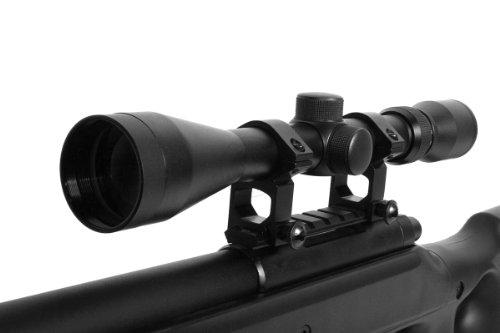 Well  6 wellfire mb10d bolt action sniper rifle w/ 3-9x40 scope and bipod(Airsoft Gun)