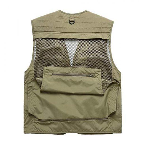 DAFREW Airsoft Tactical Vest 7 DAFREW Summer Vest Men's Quick-Drying Vest Outdoor Leisure Vest Multi-Pocket Detachable Vest (Color : Dark Blue, Size : M)