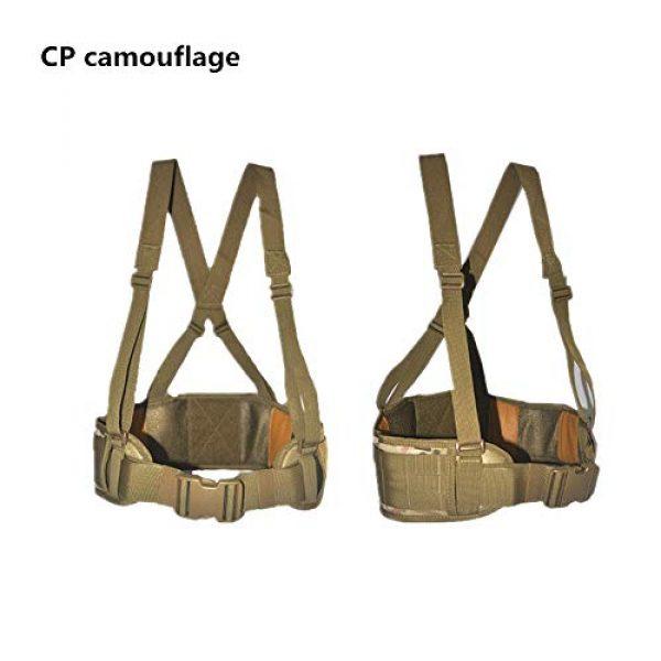 HWZ Airsoft Tactical Vest 2 HWZ Molle Portable Girdle Tactical Belt Nylon Outdoor Multifunctional Tactical Belt Vest