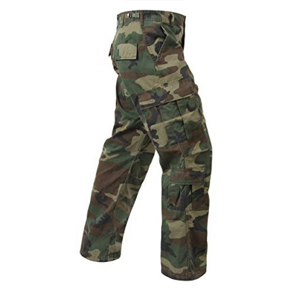 Rothco Tactical BDU Pant 2 Vintage Paratrooper Fatigues - Woodland Camo - X-Large (39-43)