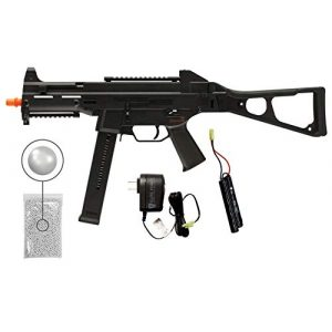 Wearable4U Airsoft Rifle 1 Umarex HK HeckIer&Koch UMP Competition Series AEG Electric Full/Semi Automatic 6mm BB Rifle Airsoft Airgun with Wearable4U Bundle