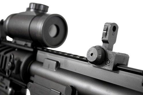 Double Eagle  4 2011 315-fps Airsoft Rifle m16/m4 Style red dot Version 1 1 Double Eagle cqb 614 aeg Full auto Rifle Electric Airsoft Gun Airsoft Rifle Gun Assault Rifle Gun(Airsoft Gun)