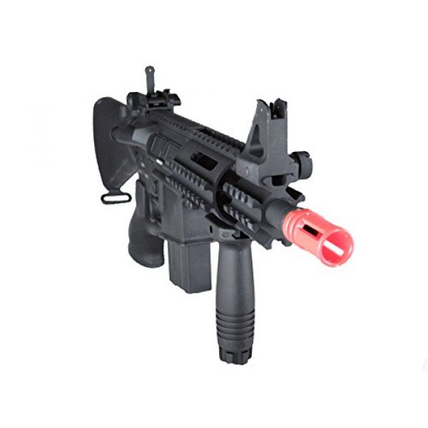 MetalTac Airsoft Rifle 1 MetalTac Electric Airsoft Gun M4 CQB 01 A&K with Full Metal Body, Metal Gearbox Version 2, Full Auto AEG, Upgraded Powerful Spring 380 Fps with .20g BBS