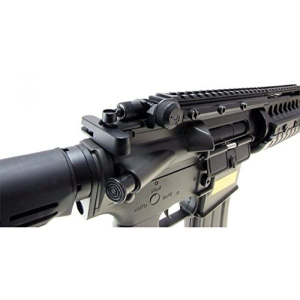 Jing Gong (JG) Airsoft Rifle 3 JG M4 RIS System with Rifle Scope Sniper Airsoft Gun 500 FPS