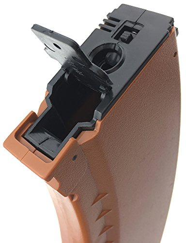 SportPro  3 SportPro 550 Round Polymer AKM Style High Capacity Magazine for AEG AK47 AK74 Airsoft - Brown