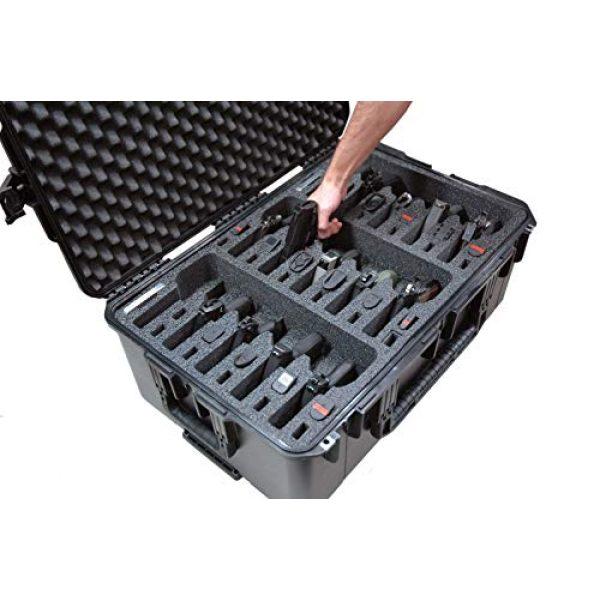 Case Club Pistol Case 6 Case Club Waterproof 15 Pistol Case with Silica Gel