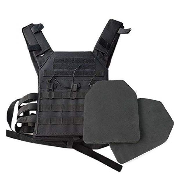 BGJ Airsoft Tactical Vest 4 2 pcs Foam Training Hunting Body Armor Plates Dummy Tactical Vest Bulletproof Panel for JPC Military Airsoft Vest Equipment