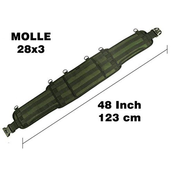 tactic.world Airsoft Tactical Vest 3 MOLLE Modular Tactical Belt molle Vest Chest rig Paintball Airsoft