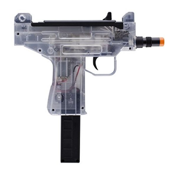 Elite Force Airsoft Rifle 1 Uzi Micro Eclectric 6mm Airsoft Clear
