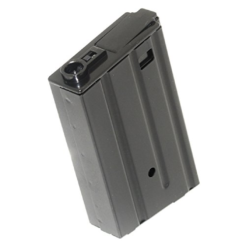 Airsoft Shopping Mall  1 Airsoft Shooting Gear 120rd Mag Metal Magazine M4 M16VN Mag For M4 M16 AEG Black