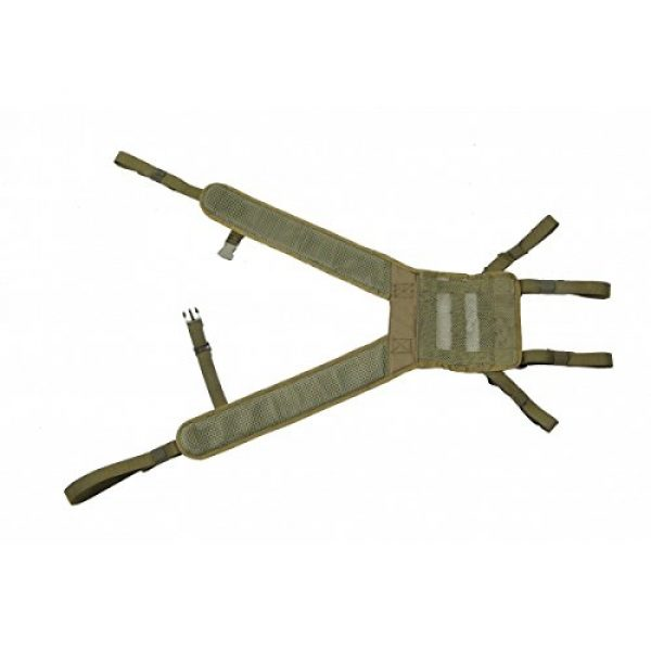 SSO/SPOSN Airsoft Tactical Vest 2 Russian Military Shoulder straps PLSE mounting MOLLE by SSO/SPOSN