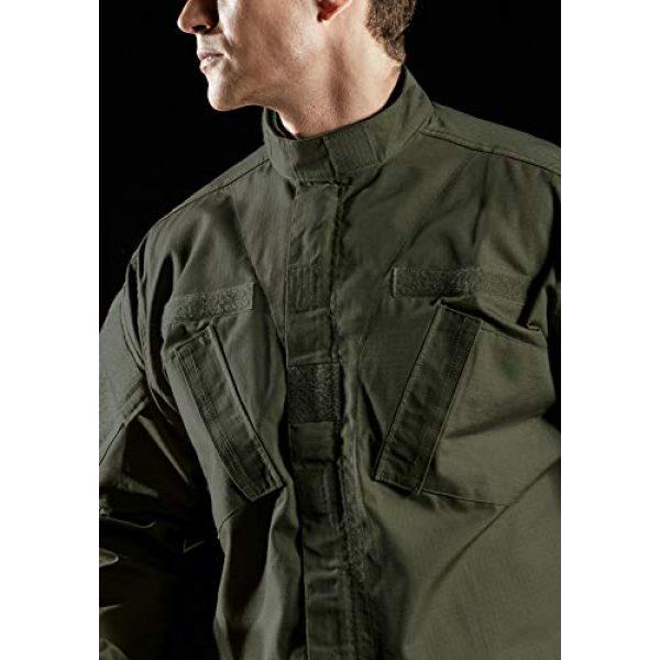 CQR Tactical Jacket 5 Men's Combat Military Jacket, Water Repellent Ripstop Army Fatigue Field Jacket, Outdoor EDC Tactical ACU/BDU Coat