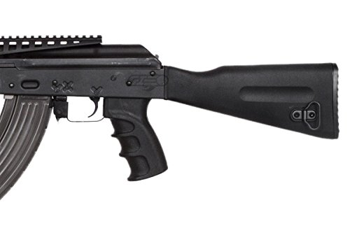 Lancer Tactical  7 Lancer Tactical LT104B AK47 Tactical Keymod Rifle Blowback AEG Airsoft Rifle by Lonex (Black)