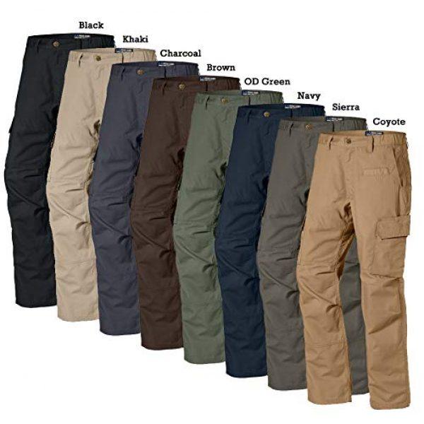LA Police Gear Tactical Pant 3 Men's Urban Ops Tactical Cargo Pants - Elastic WB - YKK Zipper