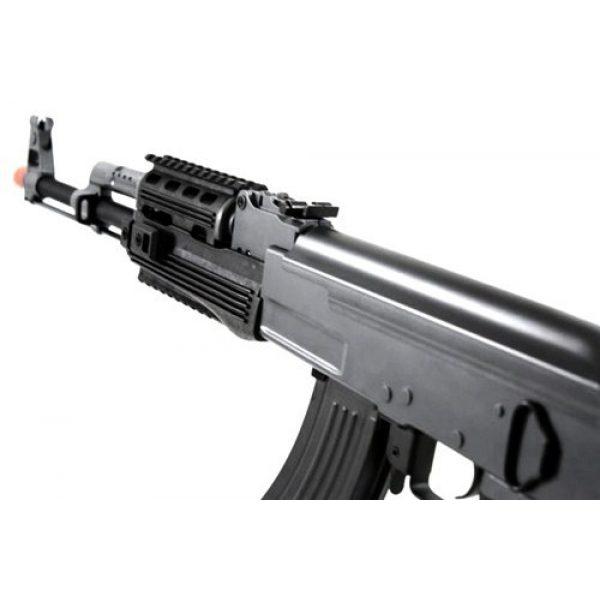 BBTac Airsoft Rifle 3 BBTac BT-AK Tactical RIS AEG w/ Integrated Rail System, Full Metal Gearbox (BLACK)