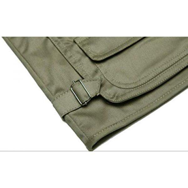 DAFREW Airsoft Tactical Vest 7 DAFREW Men's Vest Camera Vest Outdoor Leisure Fishing Vest Multi-Pocket Vest (Color : Red, Size : M)