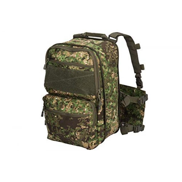 Lancer Tactical Airsoft Tactical Vest 2 Lancer Tactical 1000D Nylon QD Chest Rig and Backpack Combo (GREENZONE)