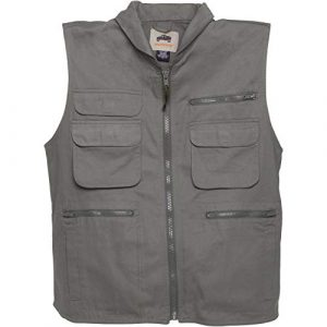 CampCo Airsoft Tactical Vest 1 Humvee Cotton Ranger Vest with Hideaway Hood