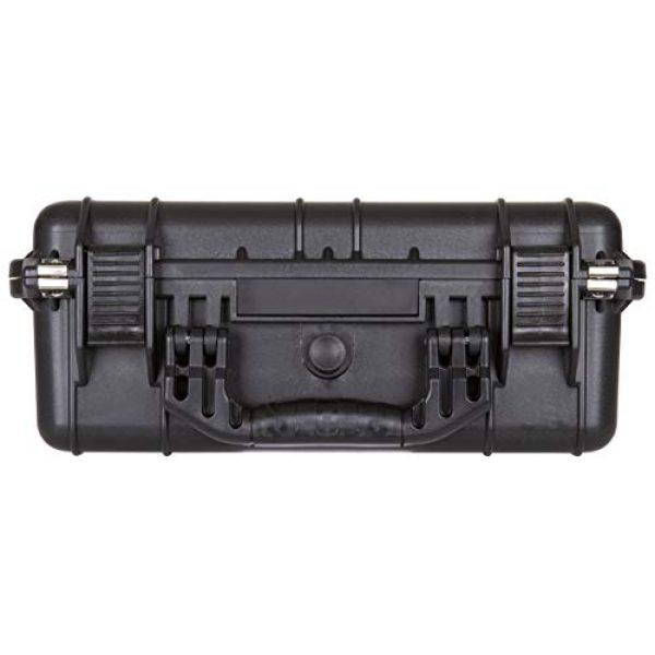 Flambeau Outdoors Pistol Case 4 Flambeau Outdoors 1410HD HD Series Marine Case - Medium, Weatherproof Portable Firearm Storage Accessory