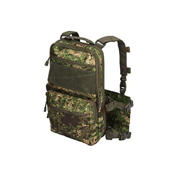 Lancer Tactical Airsoft Tactical Vest 1 Lancer Tactical 1000D Nylon QD Chest Rig and Backpack Combo (GREENZONE)