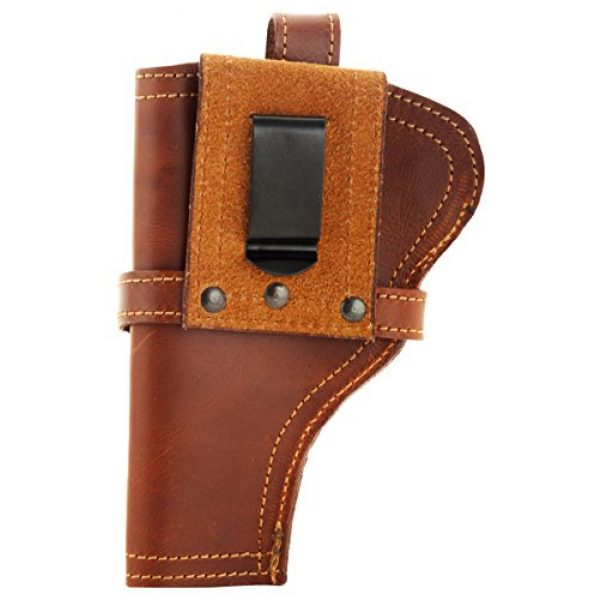 Snipper Pistol Case 2 Snipper 9 Mm Pistol Cover with Magazine Holder (Brown)