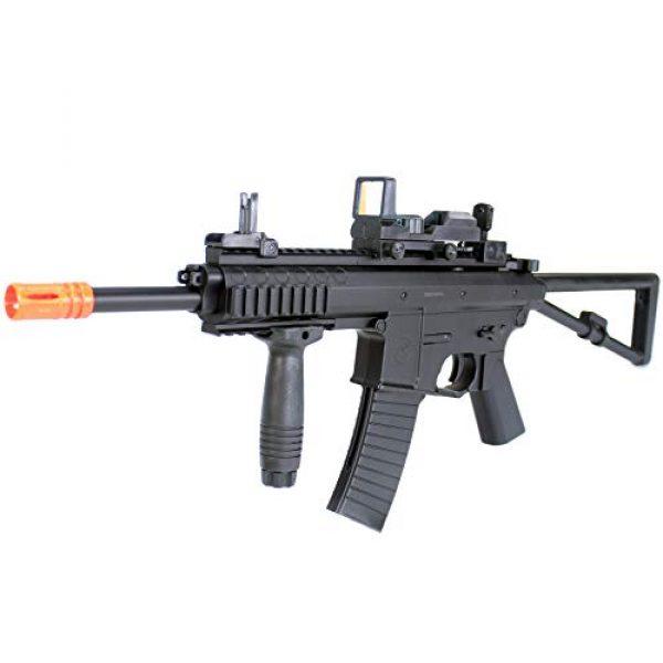 BBTac Airsoft Rifle 3 BBTac Airsoft Gun Package Desert Raider - Powerful Spring Rifle, Pump Action Shotgun, SMG, Two Pistols and BB Pellets, Preimum Airsoft Starter Pack