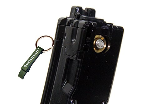 WE  2 WE 45rds Gas Magazine For APACHE MP5 MP5K MP5A2 GBB SMG Ver.2 V2 -Mobile Ring Included