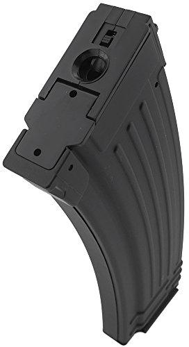 SportPro  2 SportPro 500 Round Metal High Capacity Magazine for AEG AK47 AK74 Airsoft - Black