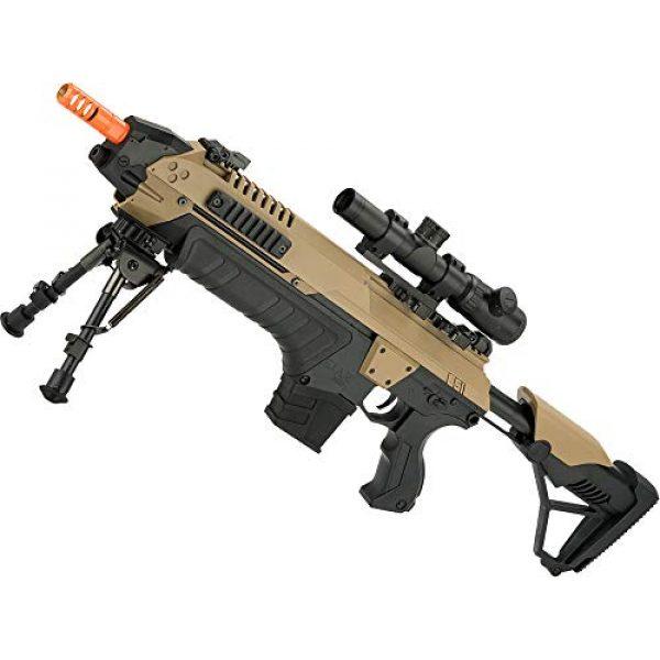 Evike Airsoft Rifle 1 Evike CSI S.T.A.R. XR-5 FG-1508 Advanced Airsoft Battle Rifle (Color: Tan)