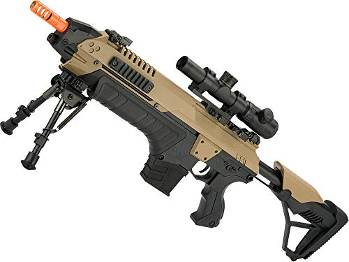 Evike Airsoft Rifle 1 Evike CSI S.T.A.R. XR-5 FG-1508 Advanced Airsoft Battle Rifle (Color: Tan)