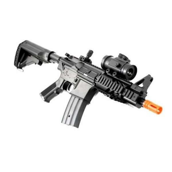 Double Eagle Airsoft Rifle 2 2011 315-fps Airsoft Rifle m16/m4 Style red dot Version 1 1 Double Eagle cqb 614 aeg Full auto Rifle Electric Airsoft Gun Airsoft Rifle Gun Assault Rifle Gun(Airsoft Gun)