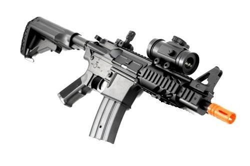 Double Eagle  2 2011 315-fps Airsoft Rifle m16/m4 Style red dot Version 1 1 Double Eagle cqb 614 aeg Full auto Rifle Electric Airsoft Gun Airsoft Rifle Gun Assault Rifle Gun(Airsoft Gun)