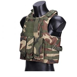 Shefure Airsoft Tactical Vest 1 Shefure Camouflage Tactical Amphibious Vest Military Army Combat Airsoft Paintball Sport Body Armor Molle Hunting Vest 8 Colors