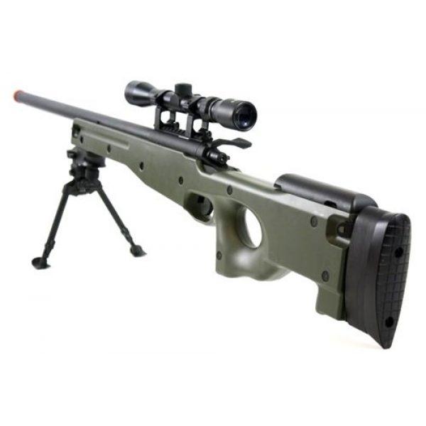 BBTac Airsoft Rifle 2 BBTac BT-96 Bolt Action Sniper Rifle w/ 3-9x Scope and Bipod - OD GREEN