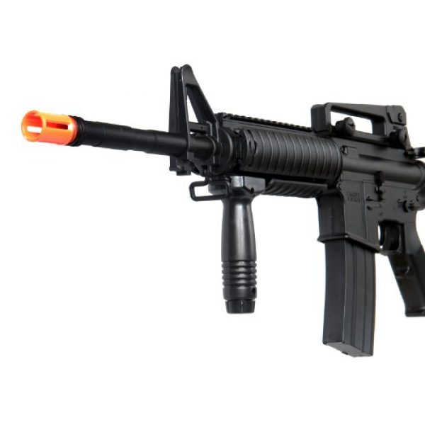 Boyi Dboys Airsoft Rifle 4 m3181ab m4a1 Carbine with m203 Grenade Launcher, 2 mags, 2 Adjustable Stocks, 2 handguards, Tactical Flashlight(Airsoft Gun)