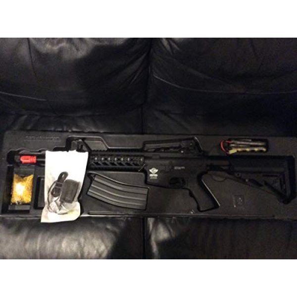 G&G Airsoft Rifle 1 G&G combat machine 16 raider-l battery & charger combo(Airsoft Gun)