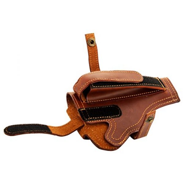 Snipper Pistol Case 3 Snipper 9 Mm Pistol Cover with Magazine Holder (Brown)