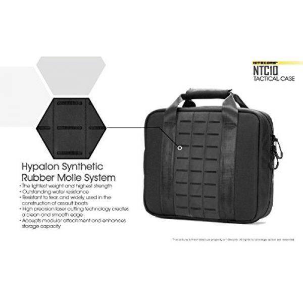 Nitecore Battery Case 6 Nitecore NTC10 Tactical Gear Carry case with EdisonBright BBX3 Battery case