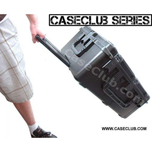 Case Club Pistol Case 4 Case Club 10 Pistol & Accessory Pre-Cut Waterproof Case with Silica Gel to Help Prevent Gun Rust