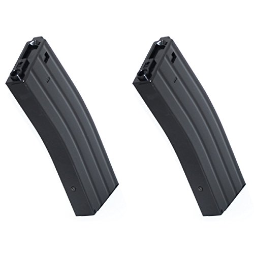 Airsoft Shopping Mall  1 Airsoft Shooting Gear CYMA 2pcs 350rd Wire-Winding Flash Mag Magazine For M-Series AEG BK