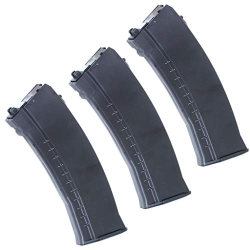 Generica  1 Generica Airsoft Spare Parts 3pcs 40rd Mag Gas Magazine for Well/WE G74A AK74 Series GBB Rifle
