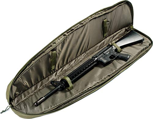 "Loaded Gear Rifle Case 3 Loaded Gear 48"" Tactical Rifle Soft Rifle Gun Bag Case, Brown (Green)"