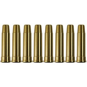 UHC Airsoft Gun Magazine 1 UHC MUG134BRASS Metal Airsoft Shells Magazines for Gas Revolvers 8 Pieces