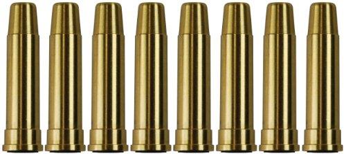 UHC  1 UHC MUG134BRASS Metal Airsoft Shells Magazines for Gas Revolvers 8 Pieces