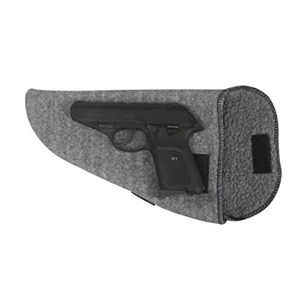 TOURBON Pistol Case 7 TOURBON Hunting Shooting Pistol Sock Gun Sleeve Handgun Storage (Pack of 3 Pieces)