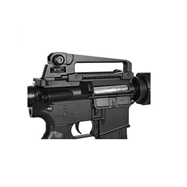 Lancer Tactical Airsoft Rifle 5 Lancer Tactical LT-03B CRANE STOCK M4 AEG METAL GEAR (Color BLACK)